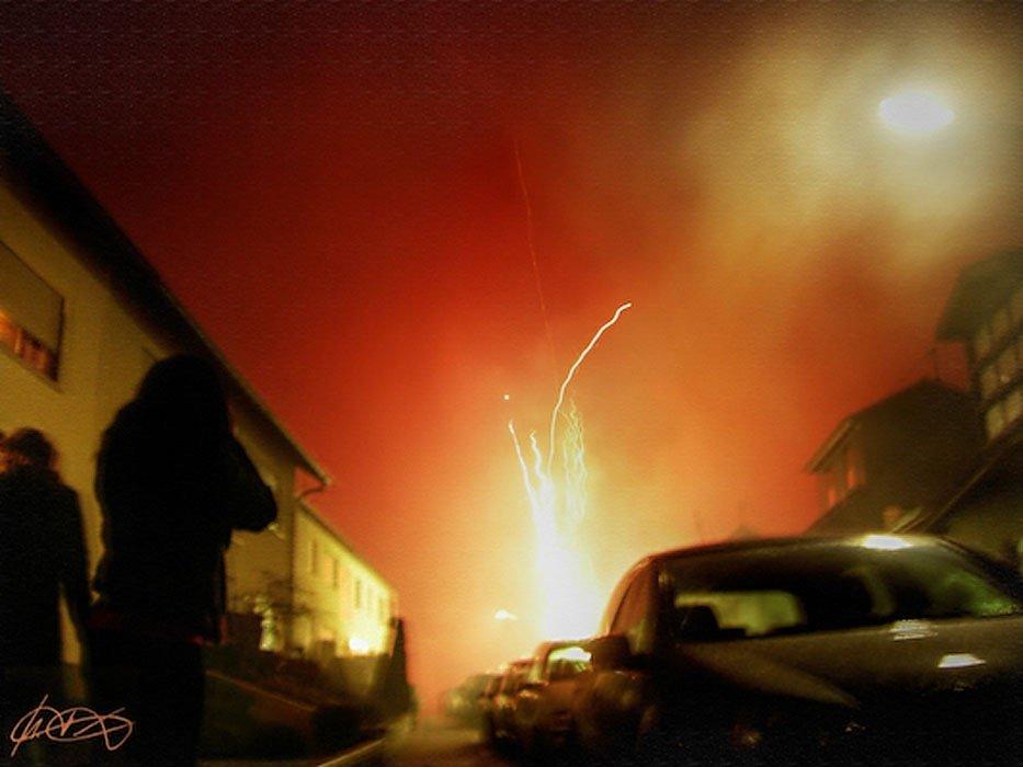 Die Explosion vom Festspielhaus